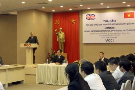 Dư địa cho hàng Việt Nam vào Anh còn rất lớn
