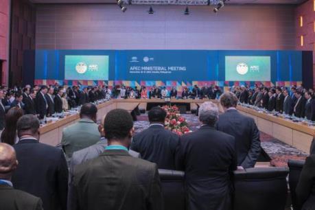 Các bộ trưởng APEC bàn về sáng kiến thương mại tự do khu vực