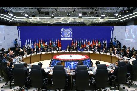 Lãnh đạo G20 cam kết nâng GDP toàn khối thêm 2% vào năm 2018
