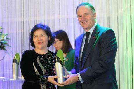 Tổng giám đốc Vinamilk được nhận giải thưởng New Zealand - Asean