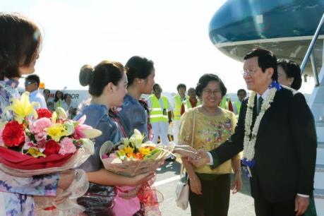 Chủ tịch nước Trương Tấn Sang tham dự Hội nghị Thượng đỉnh doanh nghiệp APEC 2015