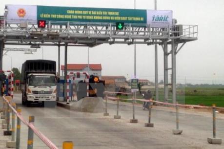 Thu phí tự động không dừng trên Quốc lộ 1 và đường Hồ Chí Minh