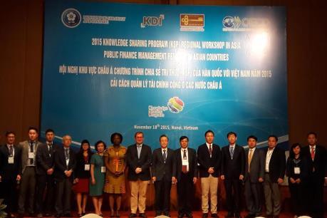 Chia sẻ kinh nghiệm trong quản lý tài chính công ở các nước châu Á