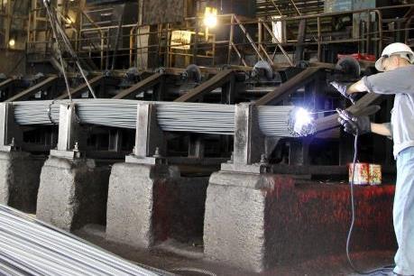 Gang thép Thái Nguyên tái khởi động dự án mở rộng sản xuất