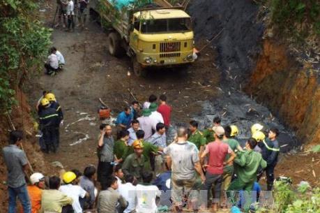 Hoà Bình: Tìm thấy thi thể một nạn nhân trong vụ sập hầm than