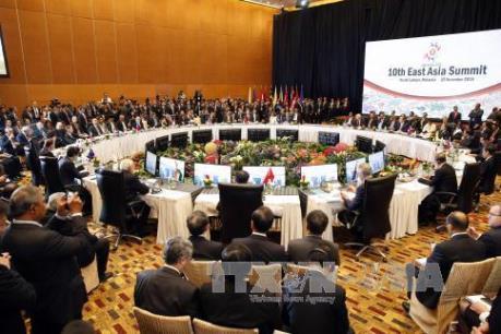 Hội nghị Cấp cao Đông Á bắt đầu làm việc