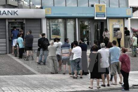 Hy Lạp tiếp nhận 2 tỷ euro cứu trợ từ Eurogroup