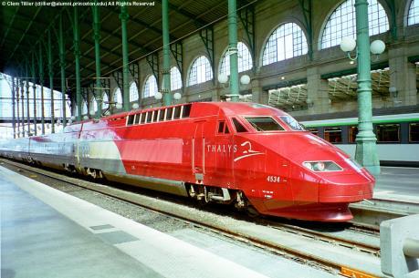 Pháp thiết lập cổng an ninh cho tuyến đường sắt xuyên châu Âu