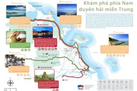 Ra mắt bản đồ phát triển du lịch vùng duyên hải miền Trung