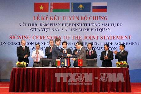 Kết nối doanh nghiệp Việt Nam và Liên minh Kinh tế Á-Âu