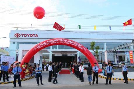 Toyota Việt Nam mở rộng hoạt động tại Bình Thuận