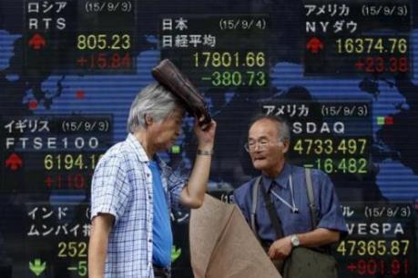 Thị trường chứng khoán châu Á giảm điểm vì căng thẳng địa chính trị