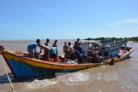 12 ngư dân Việt Nam gặp nạn ngoài khơi Micronesia đã về nước an toàn