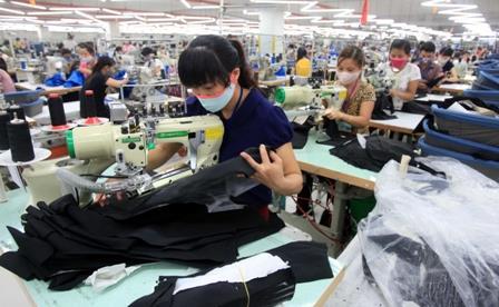 Xuất khẩu dệt may năm 2015 dự kiến đạt 27,5 tỷ USD