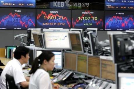 Chứng khoán châu Á tăng điểm nhẹ