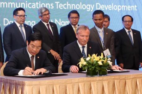 Các nước ASEAN và Liên minh Viễn thông quốc tế ITU ký kết hợp tác