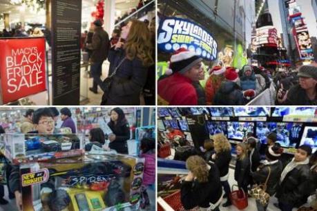 68 triệu dân Mỹ đổ xô mua sắm nhân lễ Tạ ơn và Black Friday