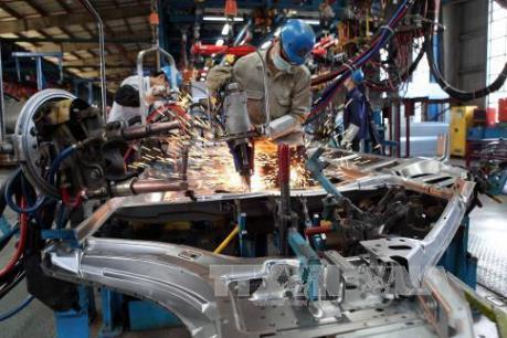 Chỉ số sản xuất công nghiệp cả nước tăng gần 10%
