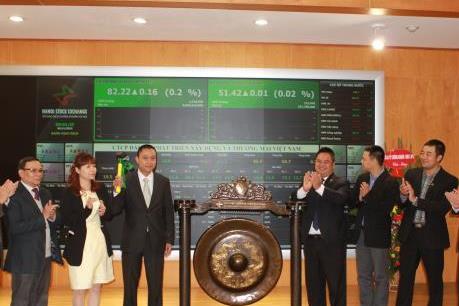 HNX chào đón cổ phiếu thứ 25 lên sàn niêm yết