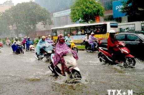 Các vùng trên cả nước đều có mưa và dông