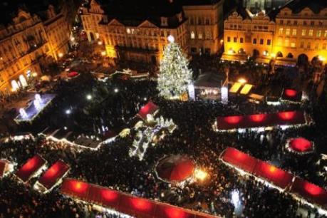 CH Séc: Cây thông Noel thách thức đe dọa khủng bố