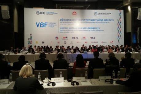 VBF 2015: Cải cách thể chế chưa đáp ứng kỳ vọng của doanh nghiệp