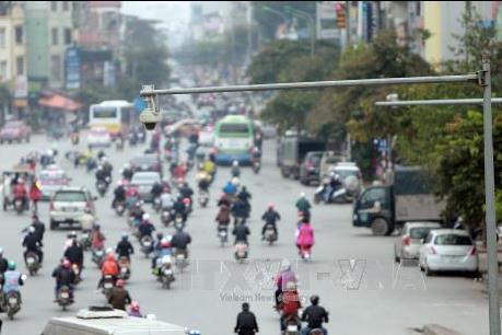 Hà Nội: Xử lý hơn 70 trường hợp vi phạm giao thông qua camera