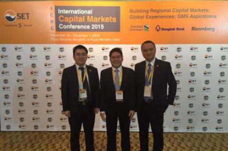 HNX tham dự Hội nghị Thị trường vốn quốc tế tại Thái Lan