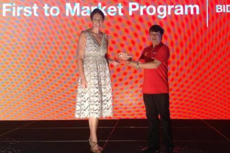 BIDV vinh dự nhận 4 giải thưởng quốc tế về sản phẩm thẻ
