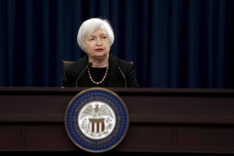 Lãi suất của Mỹ sẽ ở mức 0,9% vào cuối năm 2016