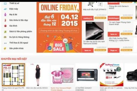 """Hơn 60,000 sản phẩm giảm giá """"sốc"""" trong ngày Online Friday"""