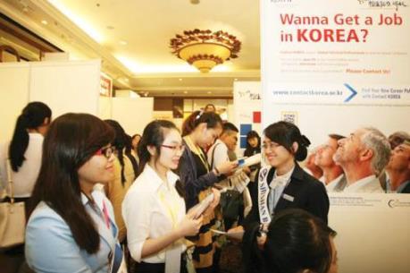 Hơn 45 doanh nghiệp Hàn Quốc tổ chức tuyển dụng nhân tài