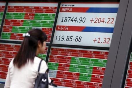 Chỉ số Nikkei 225 mất điểm bất chấp đà tăng của chứng khoán châu Á