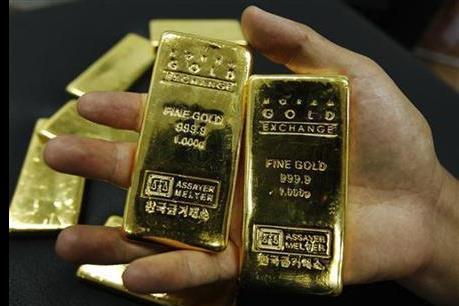 Giá vàng thoát mức đáy của gần 6 năm