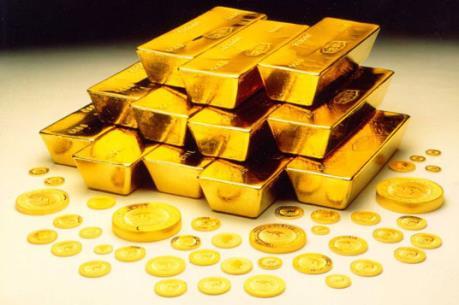 Giá vàng châu Á gần mức đỉnh của ba tuần