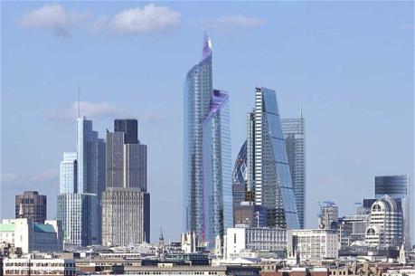 Thiết kế tòa nhà cao nhất Khu tài chính London