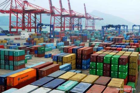 Xuất khẩu Trung Quốc giảm tháng thứ 5 liên tiếp