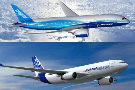 Airbus vượt xa Boeing về lượng máy bay đặt mua năm 2015