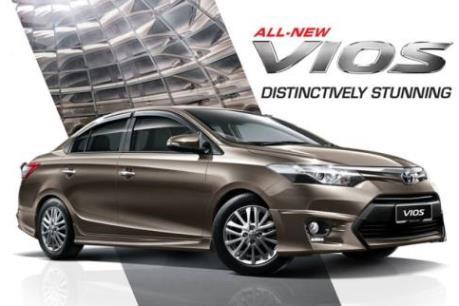 Vios tiếp tục dẫn dắt doanh số bán hàng của Toyota