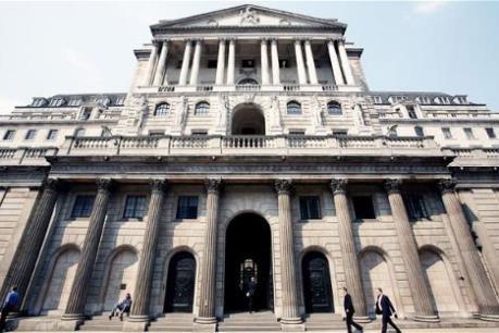 BoE cảnh báo tác động của việc Mỹ tăng lãi suất đối với dòng vốn trên toàn cầu