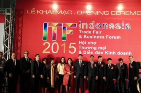 Khai mạc Hội chợ thương mại Indonesia