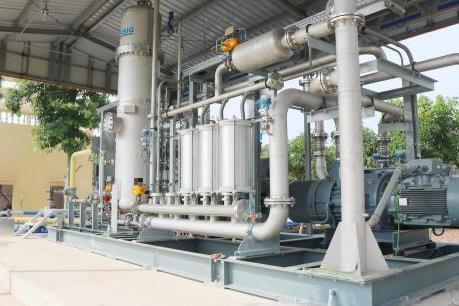 Khánh thành công trình Hệ thống thu hồi hơi xăng dầu