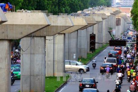 Cấm nhiều tuyến đường phục vụ thi công đường sắt đô thị Cát Linh – Hà Đông