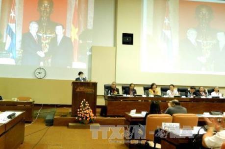 Cuba tổ chức hội nghị tổng kết dự án hợp tác lúa gạo với Việt Nam