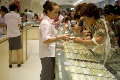 Giá vàng thế giới chứng kiến tuần giảm giá thứ 7 trong 8 tuần qua