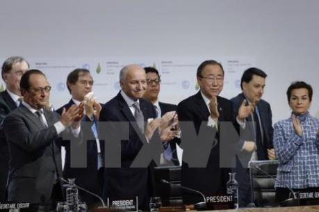 Hội nghị COP21: Hiệp ước Paris về biến đổi khí hậu đạt các mục tiêu chính đề ra