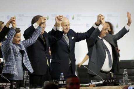 Hội nghị COP21 thông qua thỏa thuận chống biến đổi khí hậu toàn cầu