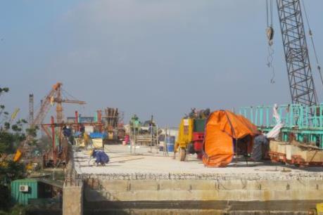 Sắp khánh thành cầu Tân Phong giải tỏa nút thắt giao thông liên vùng