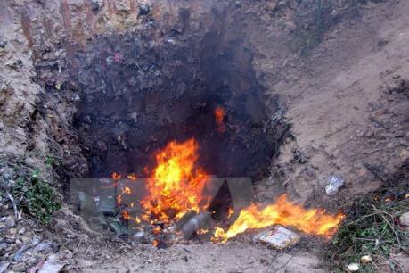 Bắc Giang: Tiêu hủy gần 3 tấn dược liệu không rõ nguồn gốc, xuất xứ