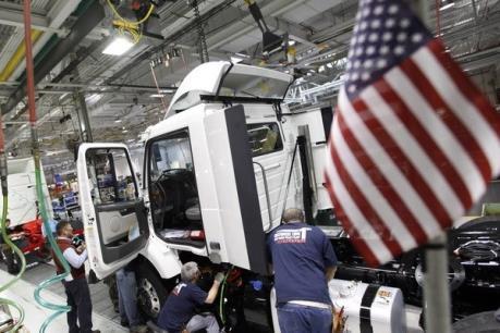 Sản lượng công nghiệp của Mỹ sụt giảm mạnh
